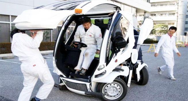 Japón saca a la venta el primer auto comercial Transformer