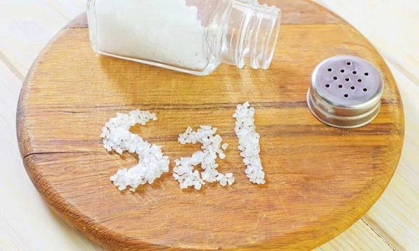 Controle el consumo de sal