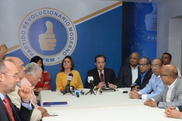 PRM considera inaceptable disposición mantiene voto de arrastre en seis provincias; dice acudirá al TC