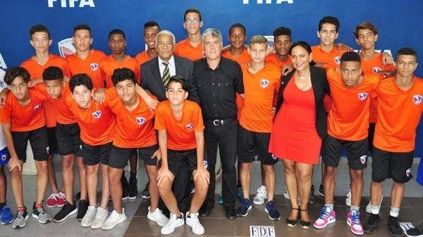 Anuncian torneo de fútbol U-14 con cinco naciones en RD