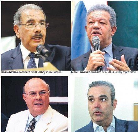 Los partidos irán divididos y con los mismos candidatos
