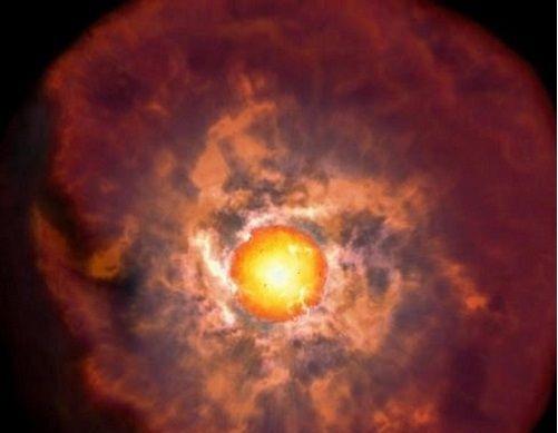 Se descubre un evento crucial justo antes de la muerte de una estrella