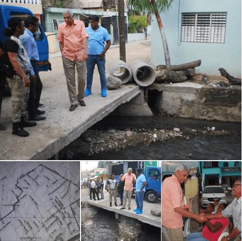 Alcalde NELSON GUILLEN dispone canalizacion y saneamiento de cañada