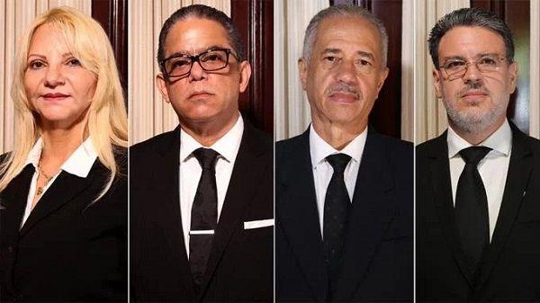Tribunal Constitucional ya cuenta con 4 nuevos jueces