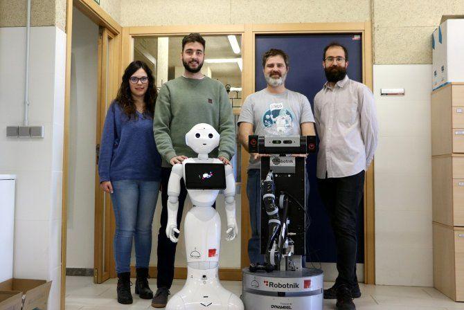 Un sistema de localización para facilitar el uso de robots sociales en el hogar