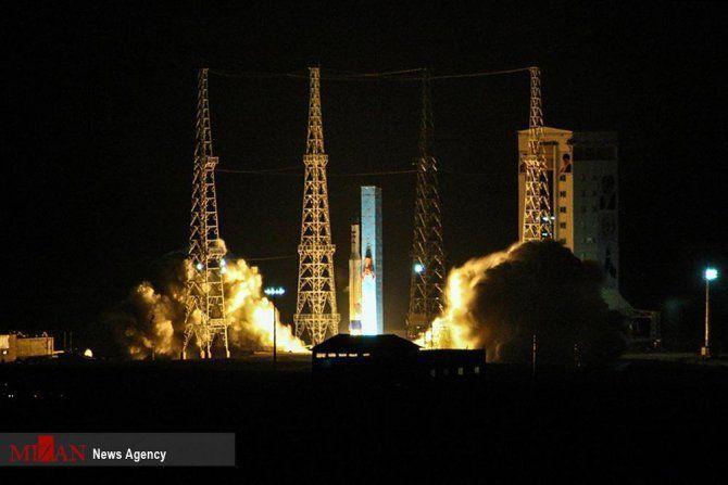 Lanzamiento fallido del satélite iraní Payam