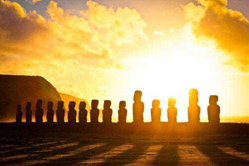 El acceso al agua dulce determinó la ubicación de los famosos monumentos de la isla de Pascua