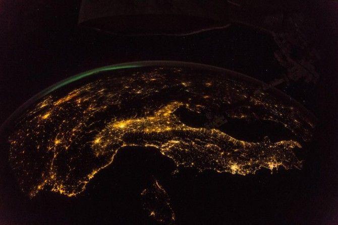 Fotografías realizadas por los astronautas en beneficio del planeta