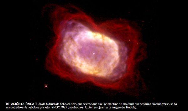 El primer tipo de molécula que se formó en el universo se ha visto en el espacio