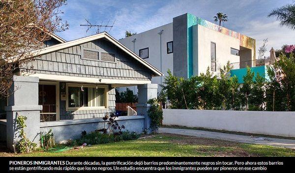 Los inmigrantes allanan el camino para la gentrificación de los barrios negros