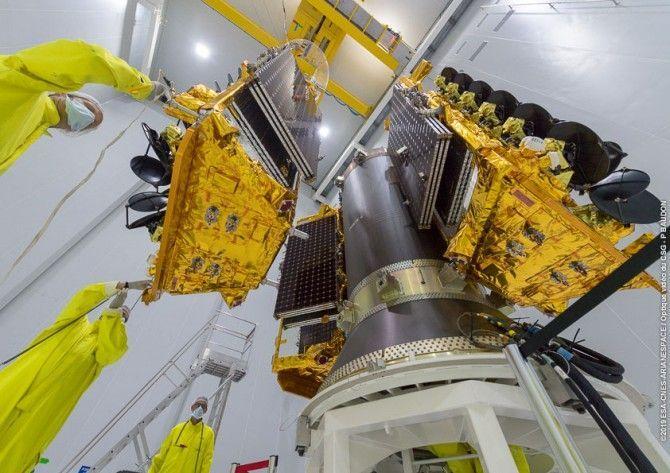 Lanzados cuatro satélites de comunicaciones O3b