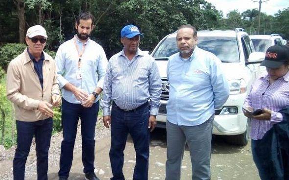 Ministerio de Obras Públicas  promete acondicionamiento de la carretera Hato Mayor-Sabana de la Mar