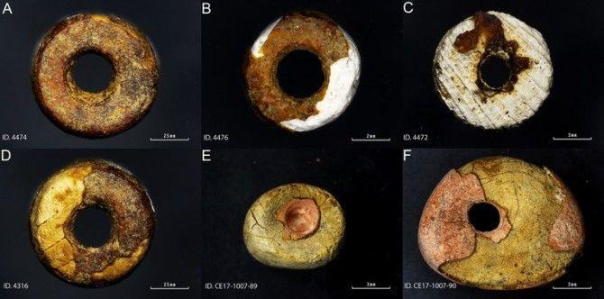 Hallan por primera vez imitaciones de ámbar prehistórico en la Península