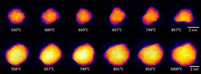 La investigación revela oro líquido en la nanoescala