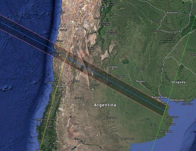 Chile y Argentina, protagonistas en el próximo eclipse de Sol