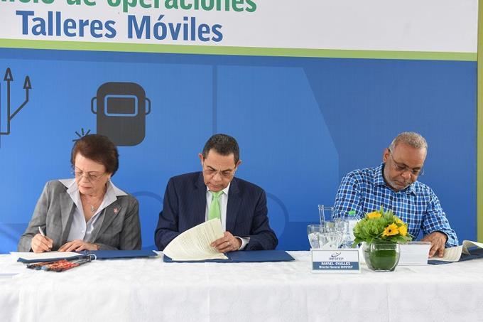 Infotep abre talleres móviles de Electricidad y Soldadura en Bonao
