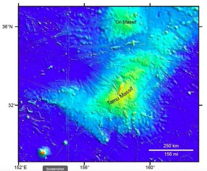 La investigación arroja nuevas pistas sobre el origen del macizo Tamu