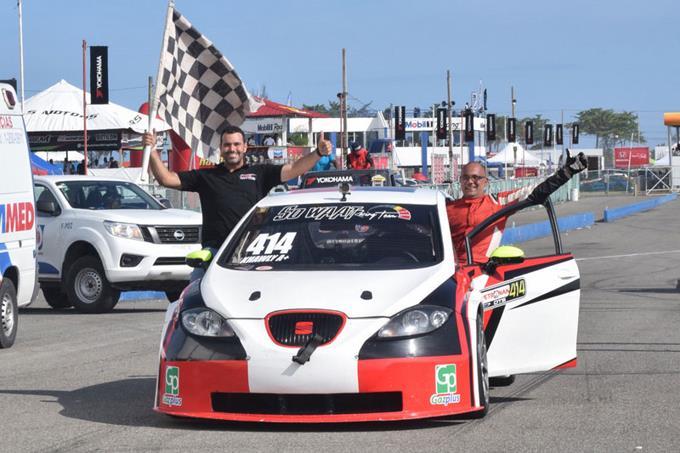 El haitiano Jacky Khawly domina DTS en autódromo