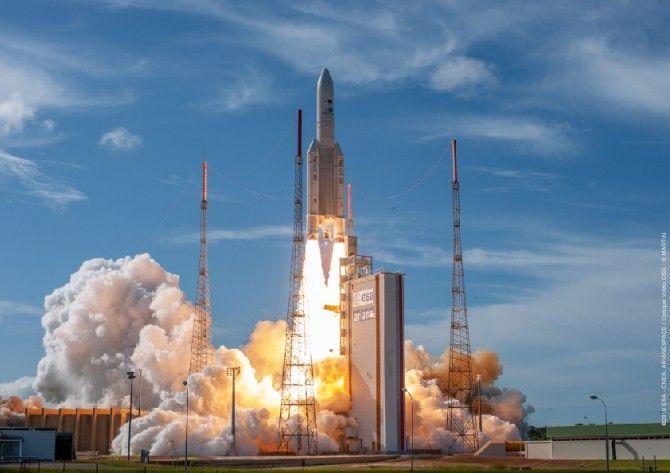 Lanzados los satélites EDRS-C e Intelsat IS-39