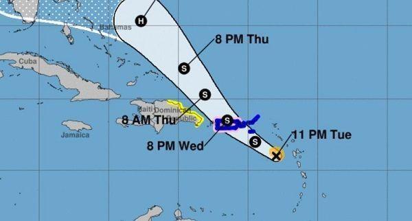 ONAMET descontinúa alerta de huracán ante amenaza de la tormenta Dorian