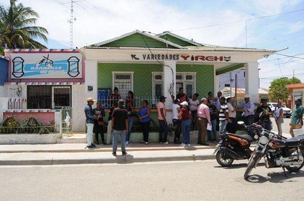Villa Vásquez, tien 27,000 habitantes y hay al menos 32 puntos de drogas