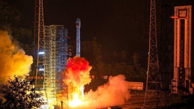 Lanzados dos satélites de navegación chinos Beidou