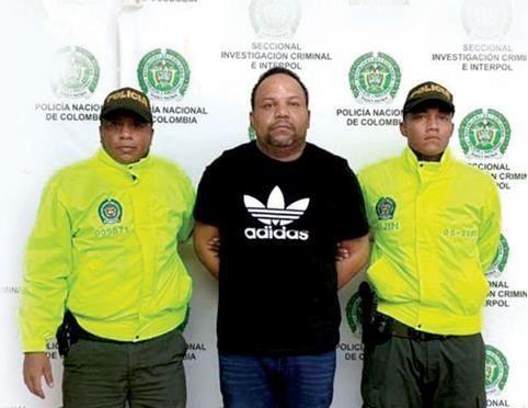 «el Abusador»  estaba en Colombia desde octubre y que sufrió atentado de sicarios
