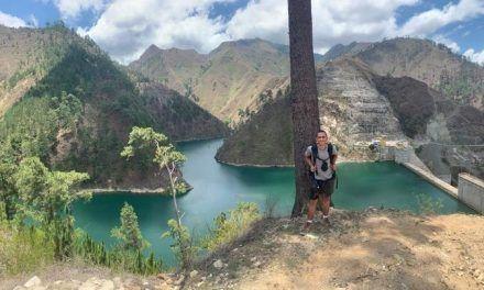 El cañón del río Blanco y el Mirador de la Cordillera
