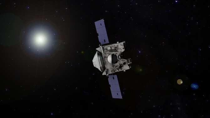 La trayectoria de la sonda espacial OSIRIS-REx