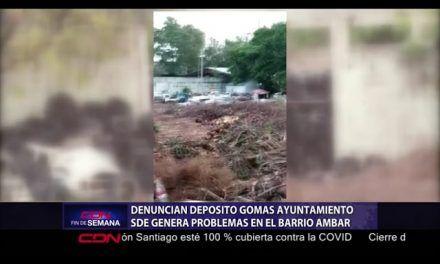 Denuncian depósito gomas de ayuntamiento SDE genera problemas en barrio Ámbar
