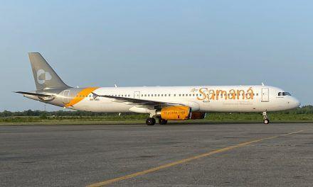 Sky Cana promueve a Samaná con su segundo Airbus A321