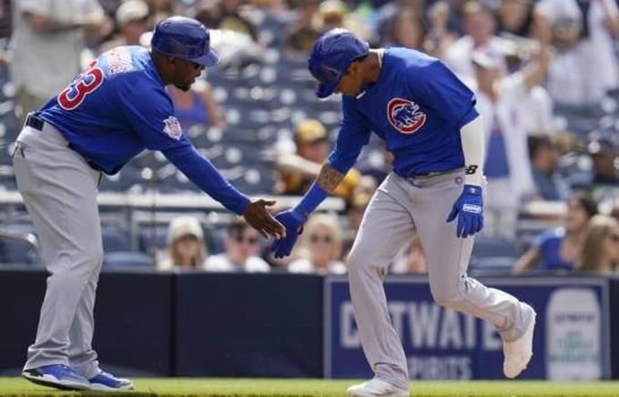 Alcántara jonronea en triunfo de los Cubs sobre San Diego