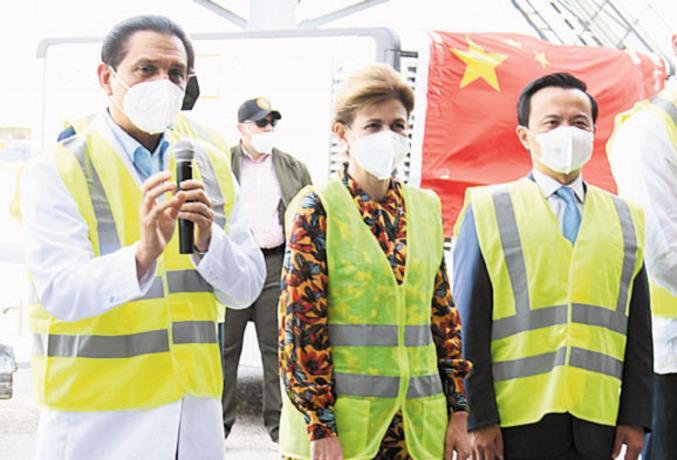 Gobierno recibe otro millón de vacunas de China