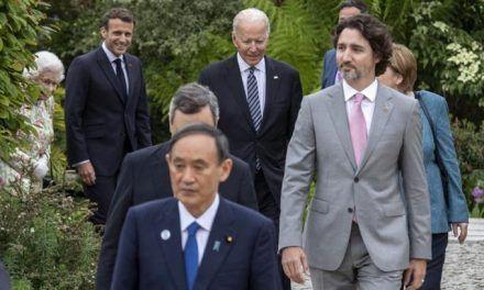 Los dirigentes del G7 se vuelven a ver en presencia de la reina Isabel II