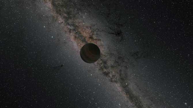 Descubren cuatro posibles planetas sin estrella