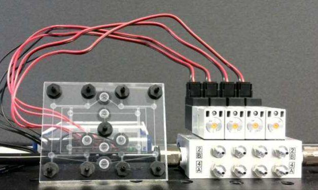 Nuevo aire para la computación y la robótica neumáticas