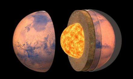 Revelan el interior de Marte