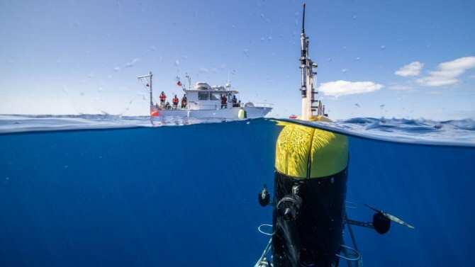 El robot subacuático Mesobot patrulla a profundidades a las que no llegan otros robots