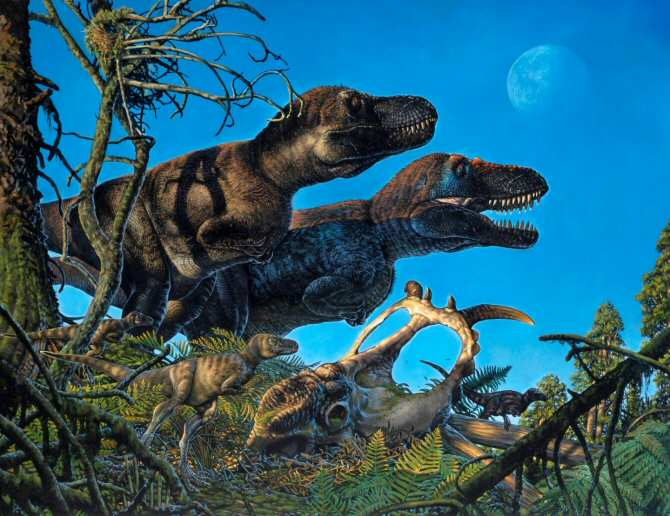 ¿Dinosaurios nacidos en el Ártico?