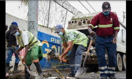 Ayuntamiento de SDE ejecuta operativos de recogida de desechos en circunscripción 3