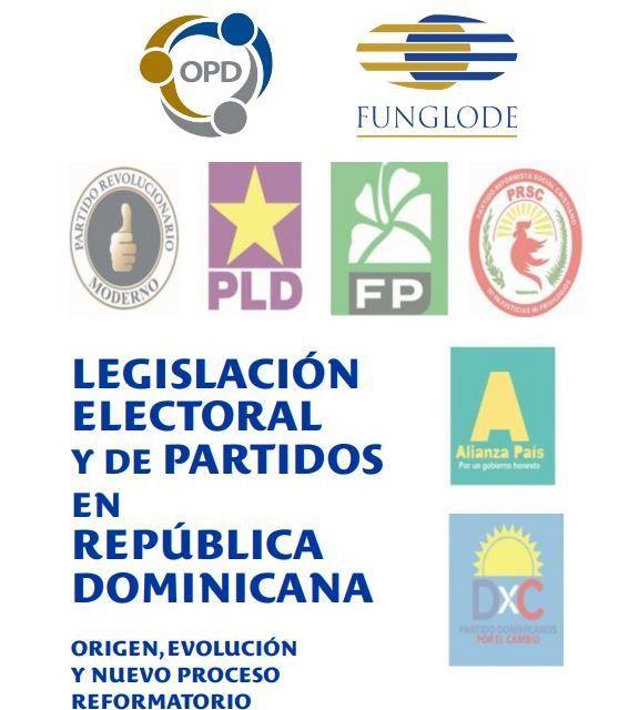 RD ha reformado 26 veces su legislación electoral, revela estudio del OPD-FUNGLODE