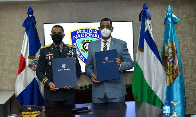 Policía Nacional y Dirección General de Migración firman acuerdo interinstitucional