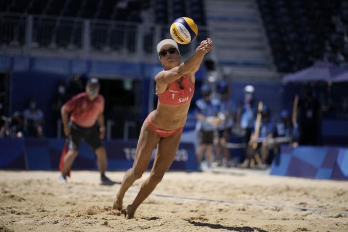 Estados Unidos gana medalla de oro en el voleibol de playa