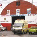 SFM: Bomberos suspenden servicios en reclamo de reivindicaciones
