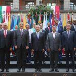 Presidentes sacan chispas por Venezuela y Cuba durante cumbre de la CELAC en México