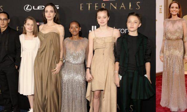 Los 'Eternals' de Marvel cruzan la alfombra roja en la premiere mundial en Los Angeles
