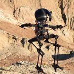 LEONARDO, ni del todo dron ni del todo robot andante