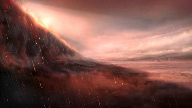 WASP-76b, el planeta donde llueve hierro