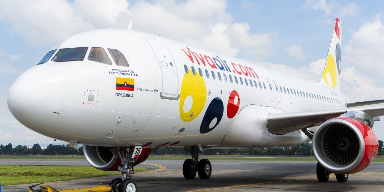 La colombiana Viva Air solicita operar vuelos a Punta Cana y Santo Domingo