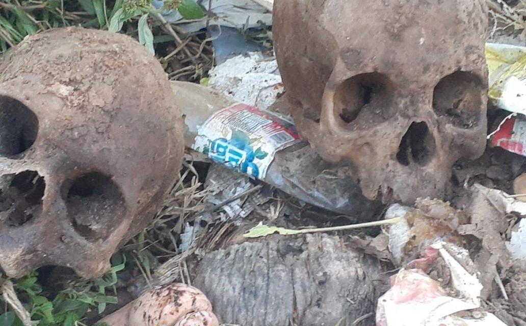 Agricultor dice encuentran tres osamentas en camino vecinal de Dajabón